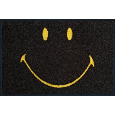 Wash+dry Fußmatte Smiley Face positive