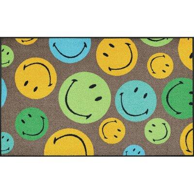 Wash+dry Fußmatte Smiley Mixed Smileys