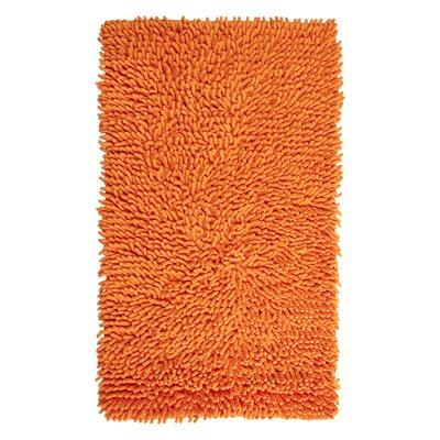 Munden Bath Rug Color: Orange