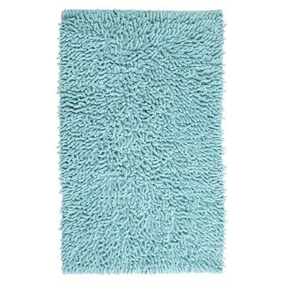 Munden Bath Rug Color: Aqua