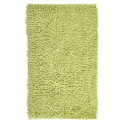 Munden Bath Rug Color: Lime