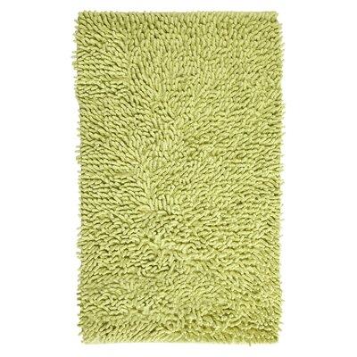 Munden Bath Rug Color: Lime