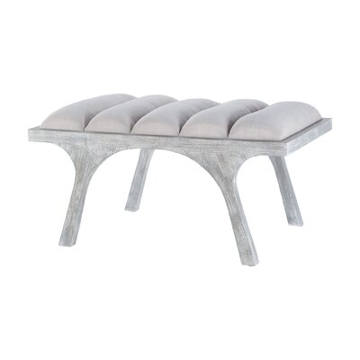 "Ferdinand Upholstered Bench Size: 19.5"" H x 72"" W x 26"" D"