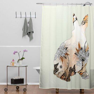 Holley Little Rabbit Shower Curtain