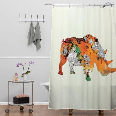 Holley Rhino Shower Curtain