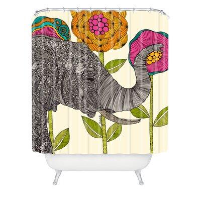 Deepak Extra Long Shower Curtain