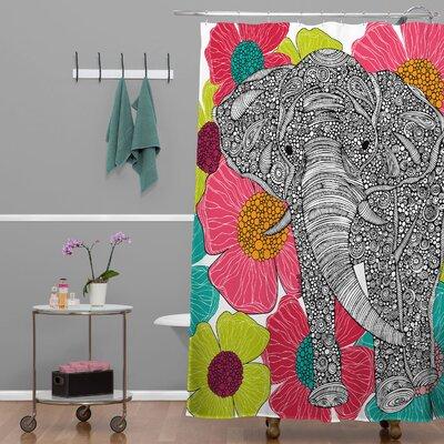 Deepak Groveland Extra Long Shower Curtain