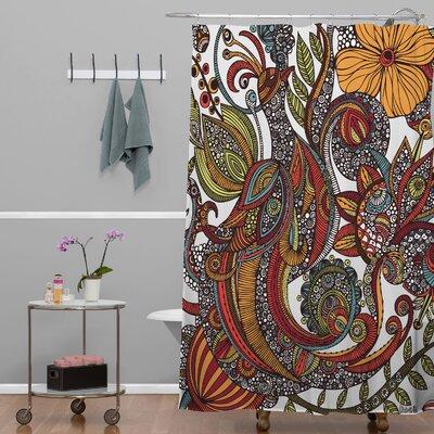 Mellott Paradise Bird Extra Long Shower Curtain