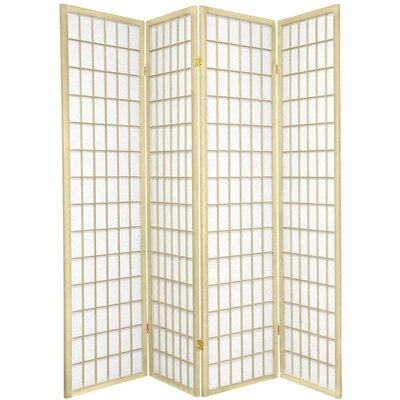 Leiva Room Divider Color: Ivory, Number of Panels: 4