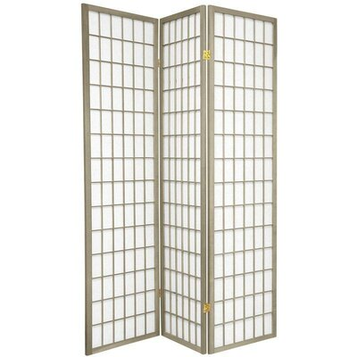 Leiva Room Divider Color: Gray, Number of Panels: 3