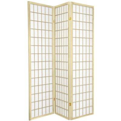 Leiva Room Divider Color: Ivory, Number of Panels: 3