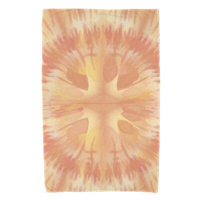Armstrong Shibori Burst Beach Towel Color: Yellow
