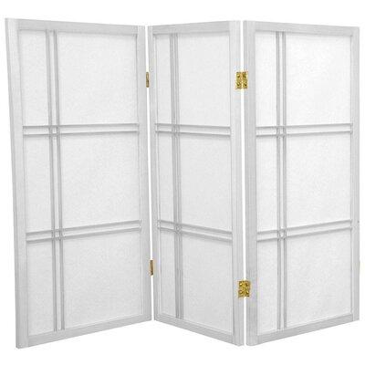 Marla 3 Panel Room Divider Finish: White