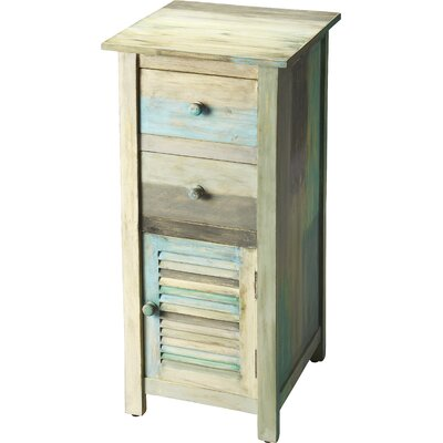 Magnus Painted Rustic 2 Drawer Chest