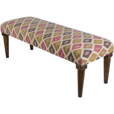 Buchanan Upholstered Bench Upholstery: Copper