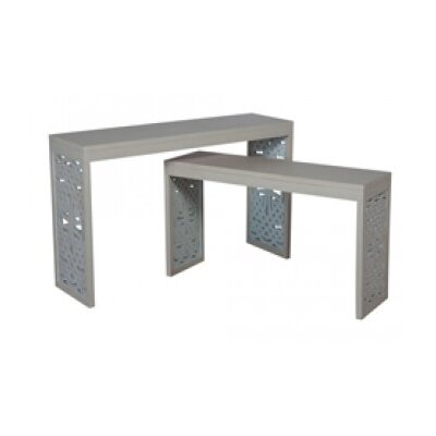 Naomi 2 Piece Console Table Set