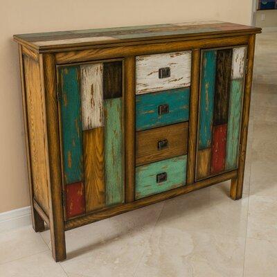 Montgomery 4 Drawer 2 Door Accent Cabinet