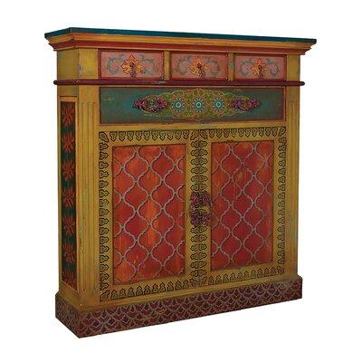 Aurelina 2 Door 4 Drawer Accent Cabinet