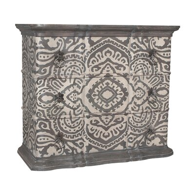 Gavyn Classic 3 Drawer Accent Chest