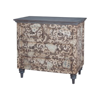 Giancarlo 4 Drawer Accent Chest