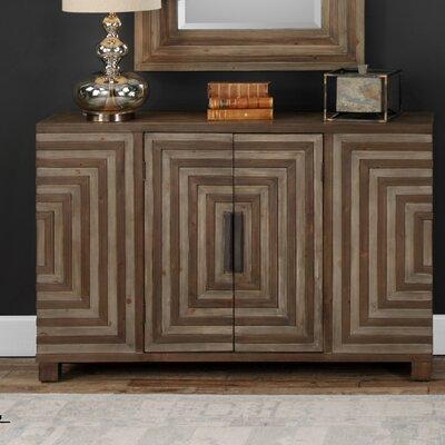 Cleo Geometric 2 Door Accent Cabinet