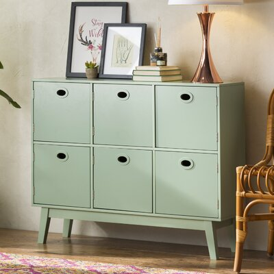 Verona 6 Door Accent Chest Color: Mint