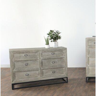 Bucklin 6 Drawer Dresser