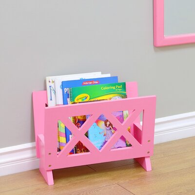 Contemporary Magazine Rack Color: Pink