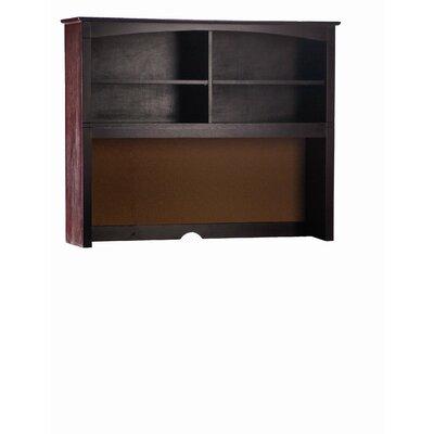 "Bonneau 42"" H x 52"" W Desk Hutch Finish: Espresso"