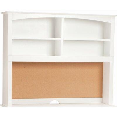 """Bonneau 42"""" H x 52"""" W Desk Hutch Finish: White"""