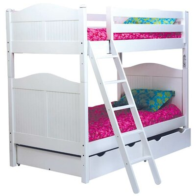 Bonneau Twin Over Twin Bunk Bed with Storage