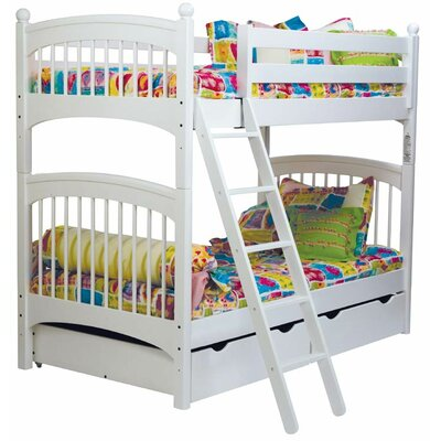 Bonneau Traditional Twin Over Twin Bunk Bed