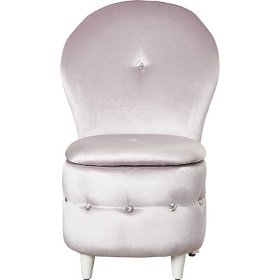 Orchard Hill Storage Stool Color: Lavender