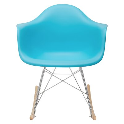 Elsa Rocking Chair Color: Aqua