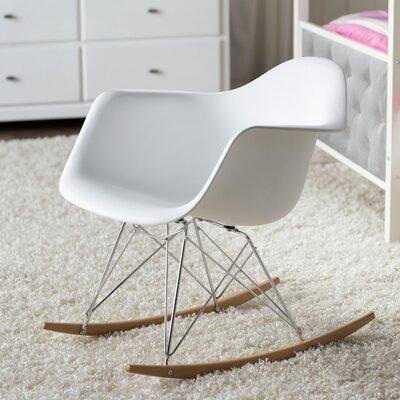 Elsa Rocking Chair Color: White