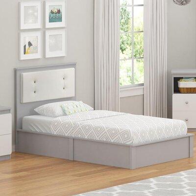 Wes Twin Platform Bed Color: Light Slate Gray