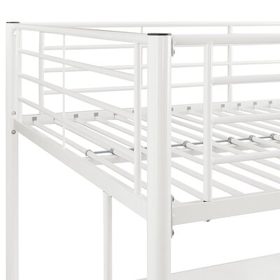 Maurice Full Loft Bed Color: White