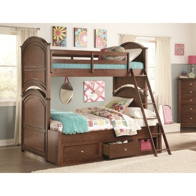 Dustin Bunk Bed Size: Twin over Full