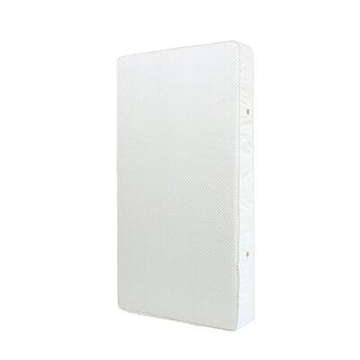"""Eugenia 6"""" Crib Mattress Color: White"""