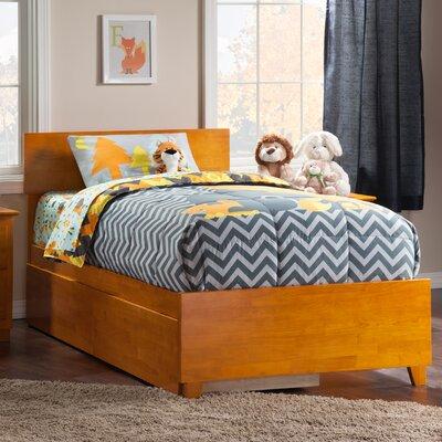 Greyson Platform Bed with Underbed Storage Size: Queen, Color: Espresso