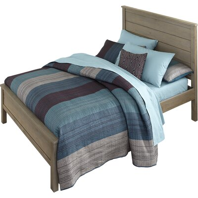 Malbon Panel Bed Size: Twin, Color: Driftwood