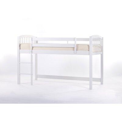 Lyric Loft Bed Color: White