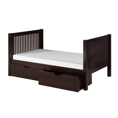 Oakwood Twin Slat Bed with Storage