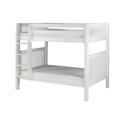 Oakwood Twin over Twin Bunk Bed Finish: White