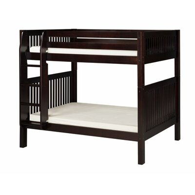 Oakwood Twin over Twin Bunk Bed Finish: Cappuccino