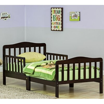 Rucker Toddler Bed Color: Espresso