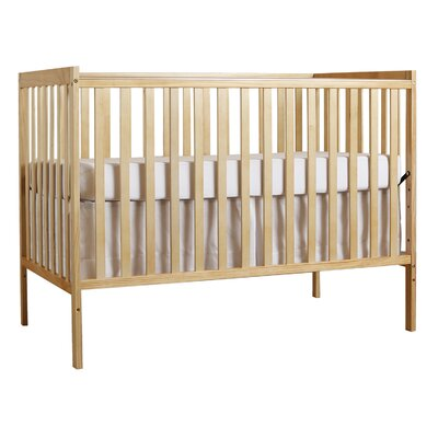 Synergy 3-in-1Convertible Crib Color: Natural
