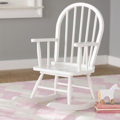 Leysin Children's Rocking Chair Finish: White