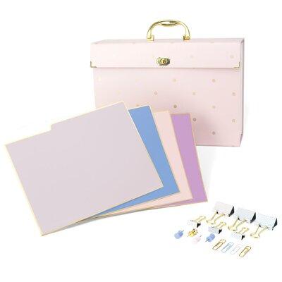 File Organizer Kit Pink Fashion