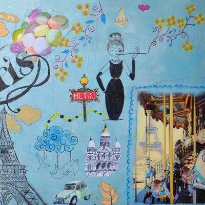Heartelier Paris 2 Painting Print